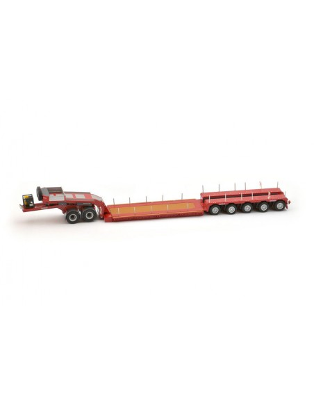 Nooteboom Euro-PX 5 assi + jeep-dolly 2 assi ROSSO