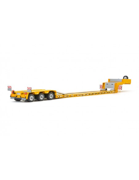 Yellow Serie Goldhofer low loader 3 axle