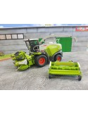 Claas Jaguar 860 con Orbis 750 and pick up 300
