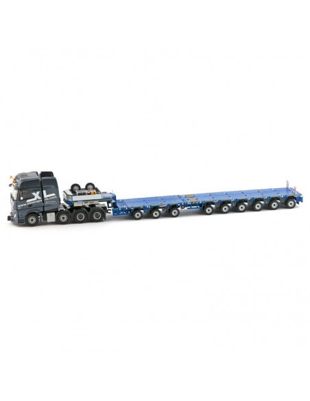 MB Actros Gigaspace 8x4 Nooteboom MCO-PX 3+6 axle XL Transports
