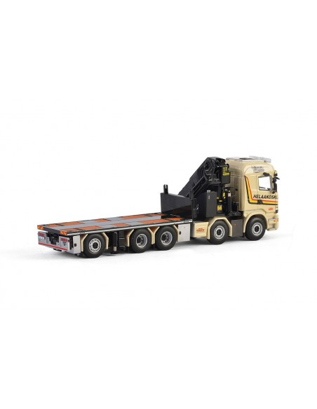 Scania R Streamline Highline rigid truck + crane E Helaakoski Oy