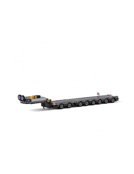 Lowloader 6 axle + Dolly 2 axle