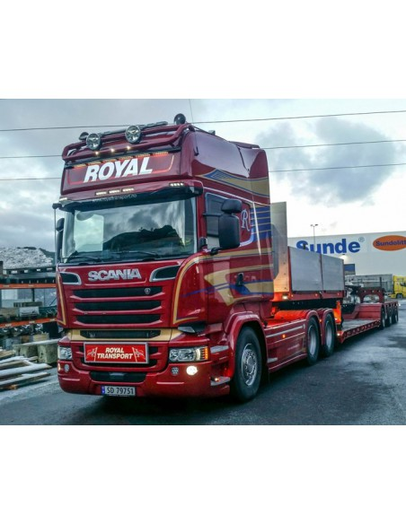 Scania R Streamline Topline Nooteboom PendelX 3axle Royal Transport AS