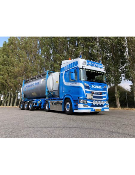 Scania NGS R-serie Highline con cisterna container - Veen, In 't