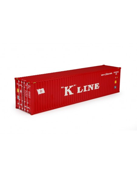 T.B. K-line 40ft container