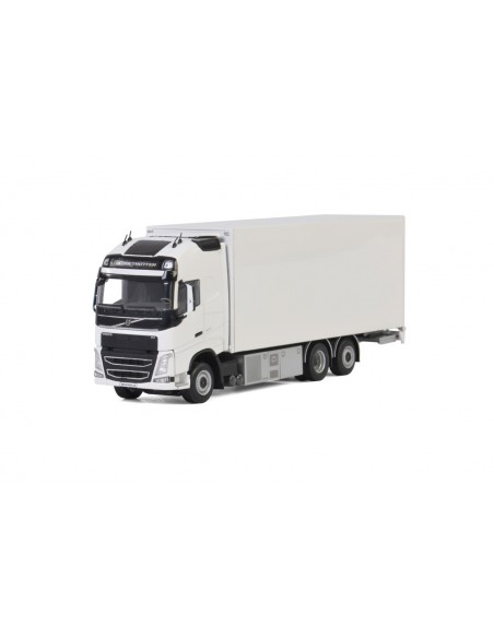 VOLVO FH4 GLOBETROTTER XL RIGED BOX / CURTAIN / REFRIGERATED TRUCK COMBI - WHITE LINE