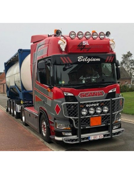 Scania NGS R-serie Highline with Swap tankcontainer - SL Logistics