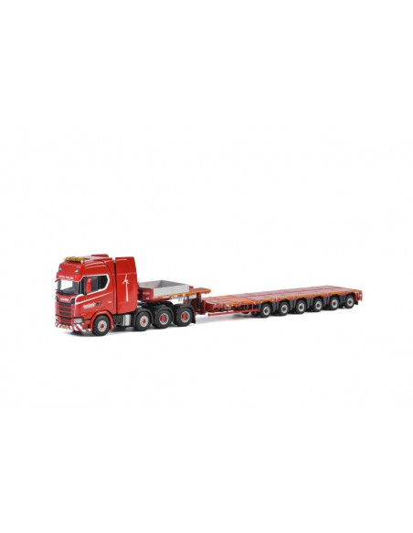 KNT Red Line - SCANIA S HIGHLINE CS20H 8x4 MCO PX - 6 AXLE