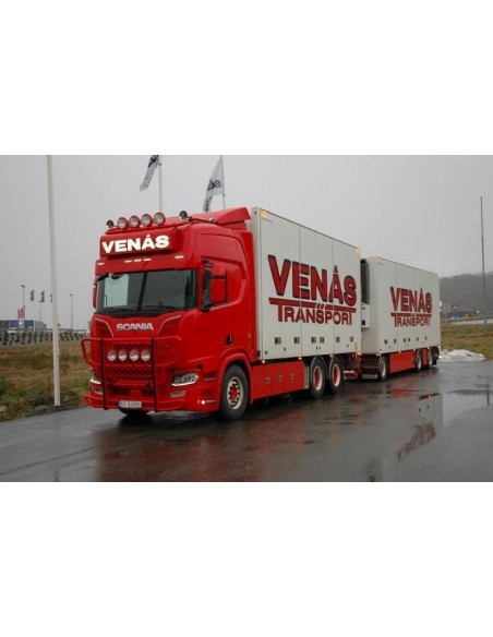 Scania R-Serie NGS Highline rigid truck with trailer -Venas