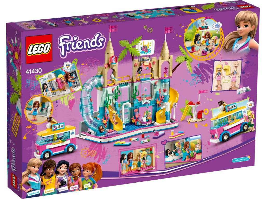 LEGO Friends Divertimento estivo al parco acquatico 41430
